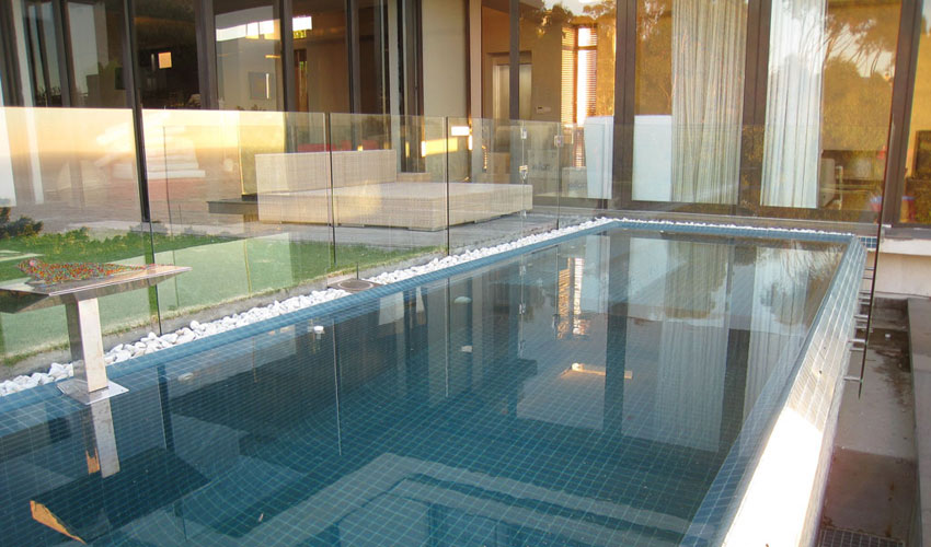 Frameless Glass Balustrades Swimming Pool Glass Fence